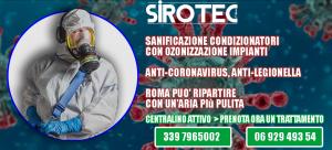 sanificazione anti coronavirus condizionatori ariston roma