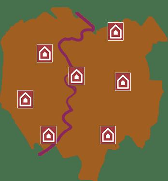copertura tutte le zone di Roma